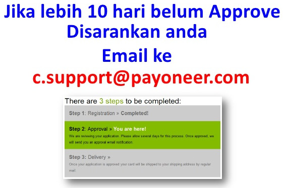 EmailCustomer service payoneer